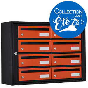 Essentielle 250 NOIR VERT BOITE LETTRES INTERIEUR Collection Ete2017