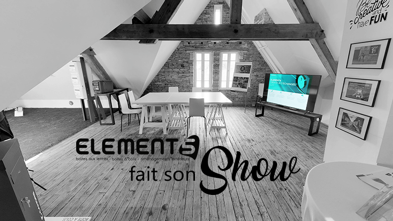 Element5 fait son show visitte virtuelle 360 3d
