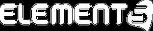 Logo blanc element5